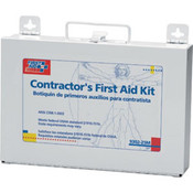 25-Person, 179-Piece Contractor First Aid Kit (Metal)