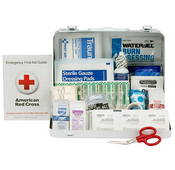 25-Person, 89-Pc ANSI A Weatherproof First Aid Kit, Plastic