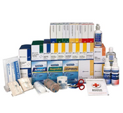 4-Shelf, 1437-Pc ANSI B+ First Aid Station Refill (For 90576AC)