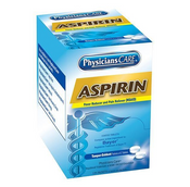 Aspirin Pain Reliever, 325 mg, 2 Pkg/125 ea
