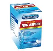 Non-Aspirin Acetaminophen Pain Reliever, 2 Pkg/125 ea
