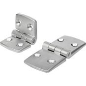 Kipp Aluminum Hinge, K0580.452525 (1/Pkg.)