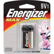 Energizer Max 9V Battery (1/Pkg.)