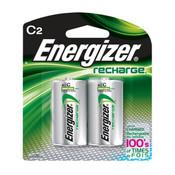 Energizer Recharge C Batteries, 2500 mAh (2/Pkg.)