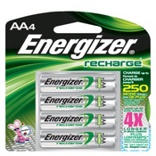 Energizer Recharge AA Batteries (4/Pkg.)