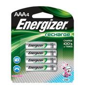 Energizer Recharge AAA Batteries (4/Pkg.)