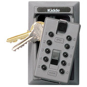 KeySafe™ Original Push-Button Lid Key Boxes (Permanent), Clay, Reshipper