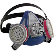 Advantage 200 LS Half-Mask Respirator, 2-Pc Neckstrap, Large