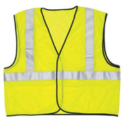 River City LuminatorClass 2 Economy Solid Mesh Vest, Large