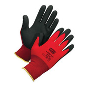 North NorthFlex Red Foam PVC Gloves, MD (1 Pair)