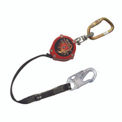 Miller Scorpion Personal Fall Limiter w/ Carabiner, Swivel Shackle, & Locking Snap Hook