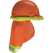 V-Gard Hard Hat Sun Shade, Hi-Vis Orange