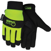 Memphis Multi-Task Synthetic Leather Palm Insulated Gloves, Medium (1 Pair)