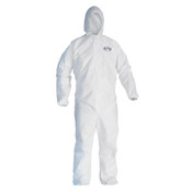 KleenGuard A20 Breathable Particle Protection Coveralls w/ Hood & Elastic Back, Wrists, & Ankles, 2XL