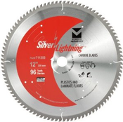 "12"" x 1-5/8"" Miter/Slide Miter Saw Ultra Fine Finish Carbide Blades, Mercer Abrasives 711202 (1/Pkg.)"