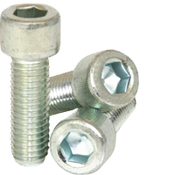 "3/8""-24x1/2""Fully Threaded Socket Head Cap Screws Fine Alloy Zinc-Bake CR+3 (750/Bulk Pkg.)"