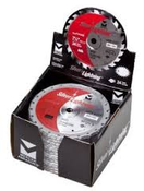 "7-1/4"" x 5/8"" Circular Saw Fine Finish Carbide Blades, Mercer Abrasives 717143B (25/Pkg.)"