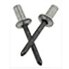 ASCE 4-6 1/8 (.313-.375) Aluminum/Steel Dome Closed-End Blind Rivets (500/Pkg.)