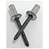 ASCE 5-3 5/32 (.126-.250) Aluminum/Steel Dome Closed-End Blind Rivets (500/Pkg.)