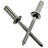 STSSCE 4-3 1/8 (.126-.187) Stainless Steel 304/Stainless Steel 420 Grooved Dome Closed-End Blind Rivets (500/Pkg.)