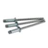 SCS 4-8 1/8 (.376-.500)x0.625 Steel/Steel Countersunk Blind Rivet, Zinc CR+3 (10000/Bulk Pkg.)
