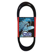 17390 Wrapped Automotive V-Belt, .53 x 39.27in OC (1/Pkg.)