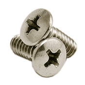 "#10-24 x 2 1/2"" Phillips Oval Head Machine Screws, 316 Stainless Steel (500/Pkg.)"