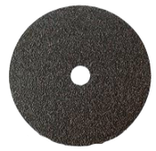 "Cloth Floor Sanding Discs - Silicon Carbide - 15"" x 2"" Hole, Grit/ Weight: 100X, Mercer Abrasives 425100 (20/Pkg.)"