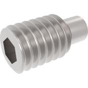 M4-0.70 x 8MM Socket Set Screws Dog Point 18-8 Stainless Steel (5,000/Pkg.)