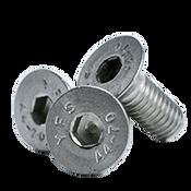M10-1.50x80 MM,(PT) Flat Socket Head Cap Screw, 316 Stainless Steel (A4) (250/Bulk Pkg.)