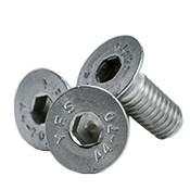 M6-1.00x70 MM,(PT) Flat Socket Head Cap Screw, 316 Stainless Steel (A4) (800/Bulk Pkg.)