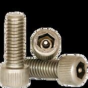 """#4-40x3/4"""",(FT) Socket Head Cap Screws w/Pin Tamper Resistant Security Screws, 18- Stainless Steel (A2) (100/Pkg.)"""