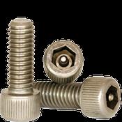 """#10-24x5/8"""",(FT) Socket Head Cap Screws w/Pin Tamper Resistant Security Screws, 18- Stainless Steel (A2) (100/Pkg.)"""