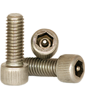 "#10-24x1"",(FT) Socket Head Cap Screws w/Pin Tamper Resistant Security Screws, 18- Stainless Steel (A2) (100/Pkg.)"