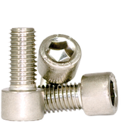 M10-1.50x20 MM,(FT) Socket Head Cap Screws, 316 Stainless Steel (A4) (600/Bulk Pkg.)