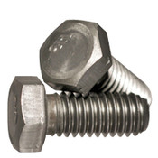 "1/2""-13x3 3/4"",Partially Threaded Grade 2 Hex Cap Screw Plain (10/Pkg.)"