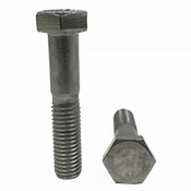 M5-0.80x40 MM,(PT),DIN 931 Hex Cap Screws Coarse Stainless Steel A4 (316) (100/Pkg.)