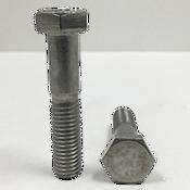 M6-1.00x55 MM,(PT),DIN 931 Hex Cap Screws Coarse Stainless Steel A4 (316) (100/Pkg.)