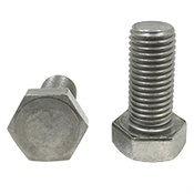 M8-1.25x16 MM,Fully Threaded,DIN 933 Hex Cap Screws Coarse Stainless Steel A4 (316) (100/Pkg.)