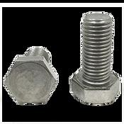 M20-2.50x50 MM,(FT),DIN 933 Hex Cap Screws Coarse Stainless Steel A4 (316) (10/Pkg.)