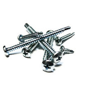 "#10-16x1 1/2"",(FT) Pan Head Phillips, #3 Point BSD Self Drilling Screws Hardened Stainless Steel 410 (500/Pkg.)"