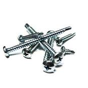 """#10-16x2 1/2"""",(FT) Pan Head Phillips, #3 Point BSD Self Drilling Screws Hardened Stainless Steel 410 (1400/Bulk Pkg.)"""