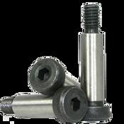"""1/4""""-10-24x3 3/4"""" Non-Standard Socket Shoulder Screws Alloy Thermal Black Oxide (25/Pkg.)"""