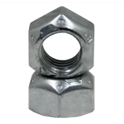 "3/8""-16 GR.C ALL METAL HEX LOCKNUTS ZINC & WAX CR+3 (100/Pkg.)"