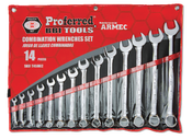 "14 Piece (3/8"" - 1 1/4"") Proferred Combination Wrench Set"