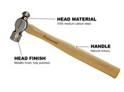 Ball Pein Proferred Hammer (12oz)