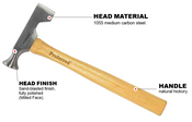 Drywall Milled Face Proferred Hammer (12oz)