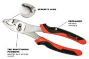 "8"" Tpr Grip Proferred Slip Joint Pliers"