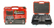 "1/2"" Drive 21 Piece Sae Proferred Socket Master Set"
