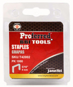 "1/4"" (6mm) Height Proferred Staples (1.2mm Thick, 10.6mm Wide)"